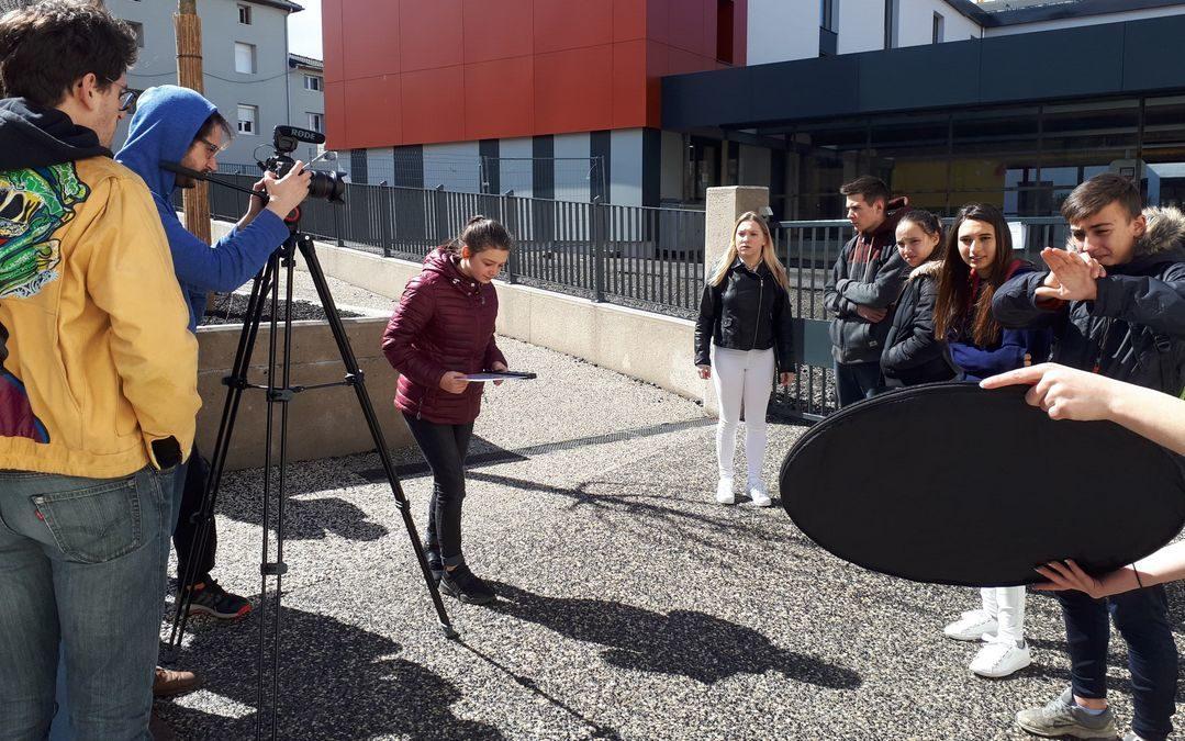 Court métrage au Lycée d'Yssingeaux