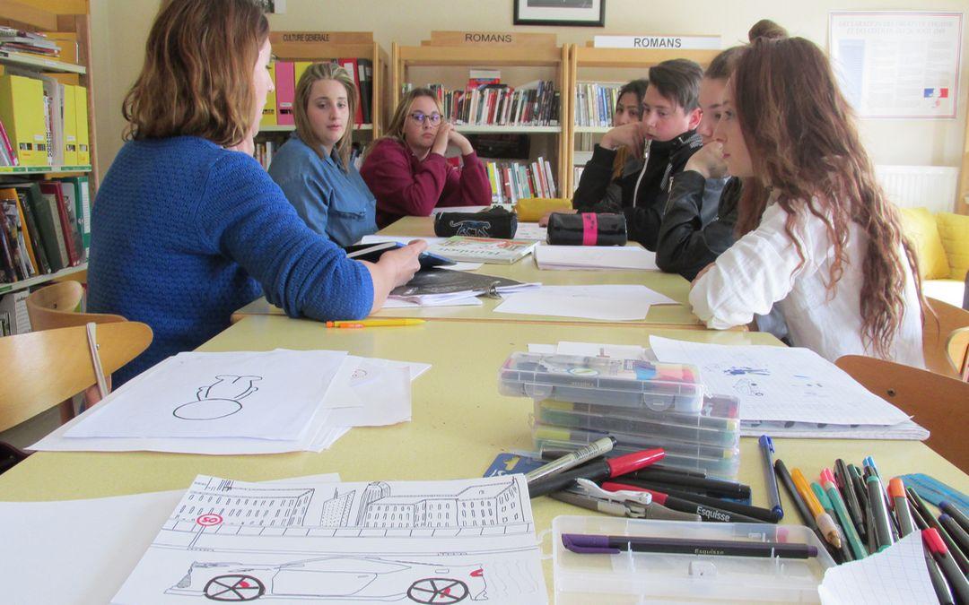 Prévention Routière au Lycée de Saint Siméon de Bressieux