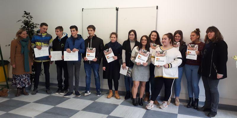 Les nouveaux diplômés du Lycée Costa de Beauregard