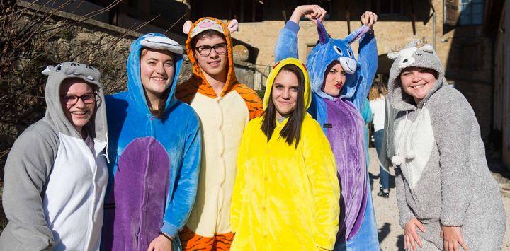 Le Lycée de Saint Sorlin fait son carnaval !