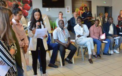 Une délégation sénégalaise au lycée Bellevue