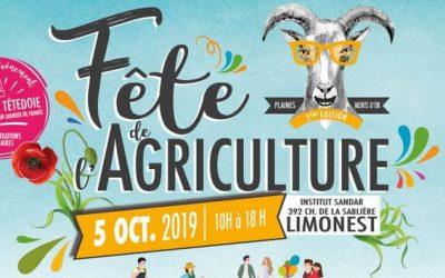 Fête de l'Agriculture à l'Institut SANDAR le 5 octobre