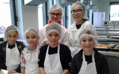 Atelier cuisine avec l'école Sainte Emilie de Rodat
