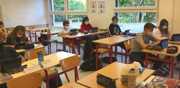 Le Lycée de Combloux équipe ses élèves d'une tablette numérique
