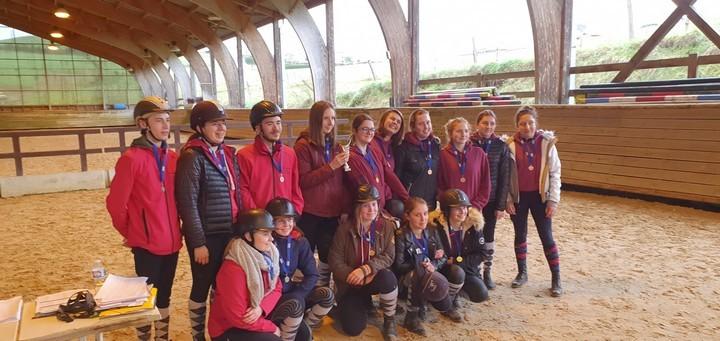Championnat Départemental UNSS Equitation