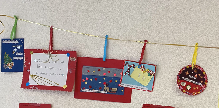 Activités de Noël au Lycée Vallon-Bonnevaux