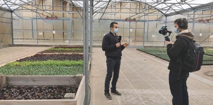 La chaîne Savoie News au Lycée du Bocage