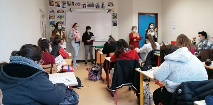 Intervention de l'IFSI à Saint-Jean-de-Bournay