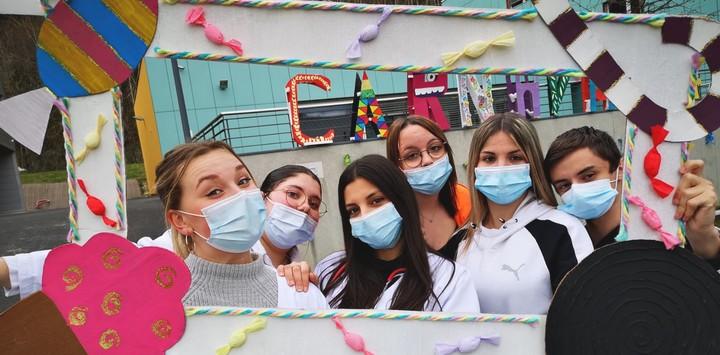 Carnaval au Lycée du Guiers Val d'Ainan