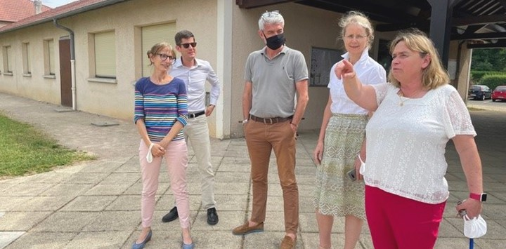 Visite de la DGER à Villemoirieu
