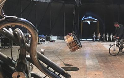 Spectacle «Mu-cirque» en Savoie